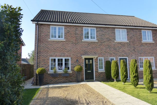 Thumbnail Semi-detached house for sale in Fairways, Hellesdon, Norwich