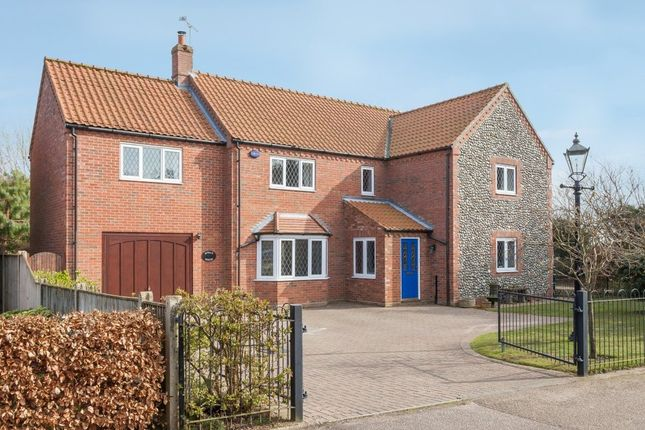 Thumbnail Detached house for sale in The Pastures, Little Snoring, Fakenham