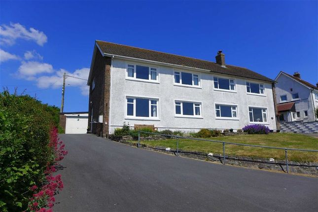 Thumbnail Semi-detached house for sale in Maeshendre, Aberystwyth, Ceredigion
