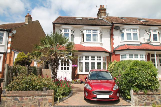 Thumbnail End terrace house for sale in Hamilton Crescent, London