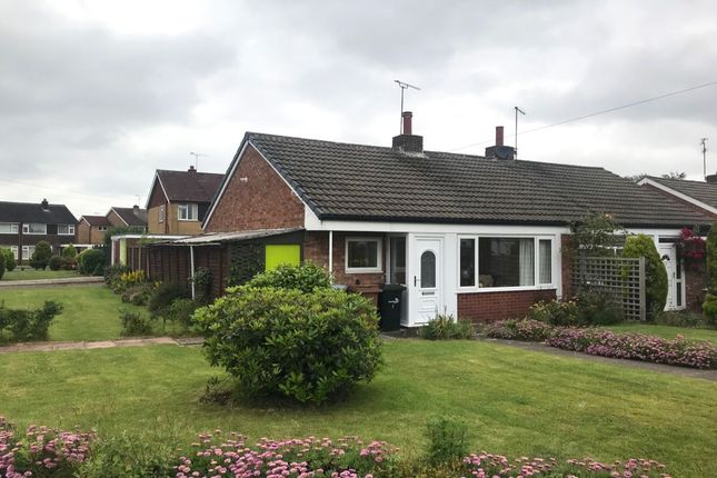 Thumbnail Bungalow for sale in Meynell Close, Wistaston, Crewe