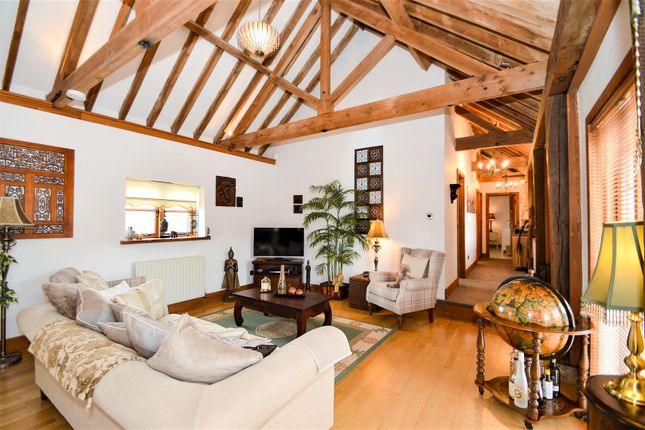 #Living Area of West Barn, Great Cossington Farm, Aylesford ME20