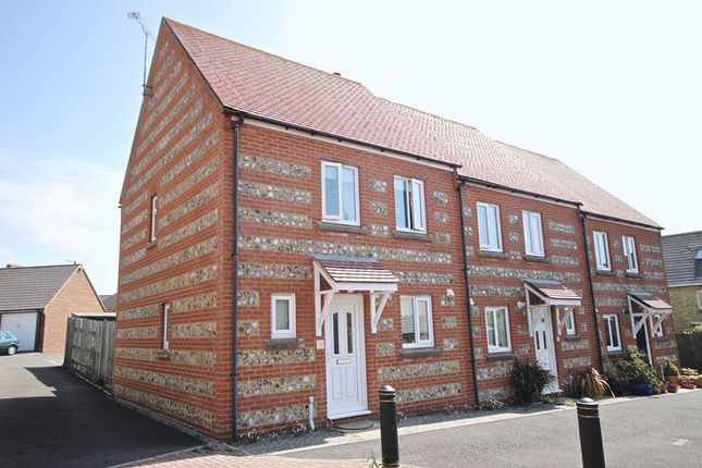 Thumbnail End terrace house to rent in Lornton Walk, Dorchester