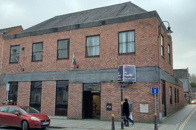 Office to let in Broad Street, Welshpool