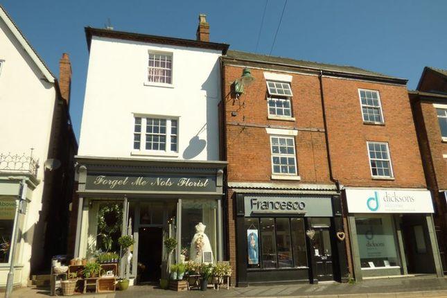 Thumbnail Retail premises for sale in High Street, Cheadle, Stoke-On-Trent