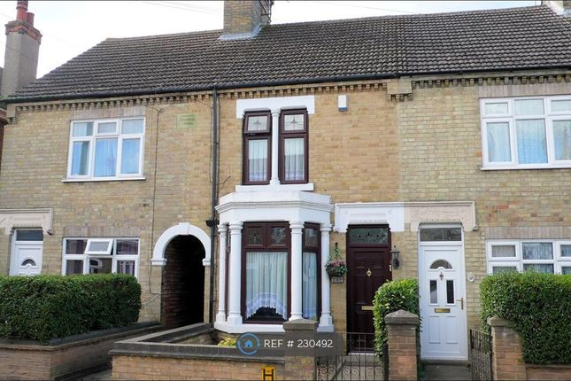Thumbnail Terraced house to rent in Aldermans Drive, Peterborough