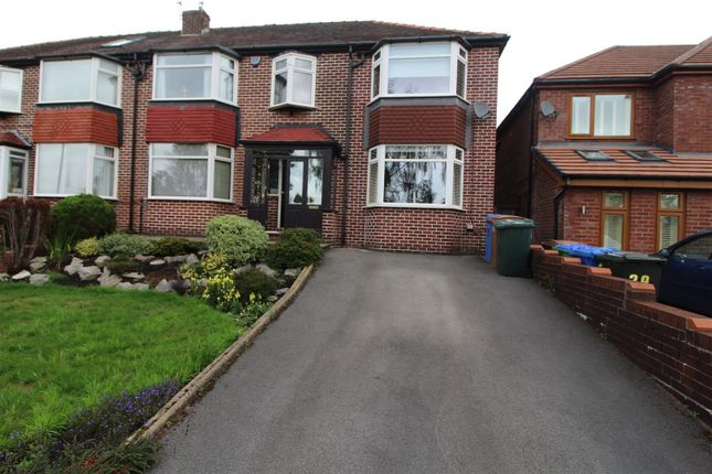 Thumbnail Semi-detached house to rent in Mainway, Middleton, Manchester