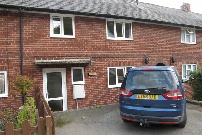 Thumbnail Terraced house to rent in Bronybuckley, Welshpool