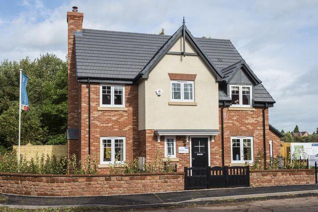 4 bedroom detached house for sale in Marsh Lane, Hinstock, Market Drayton