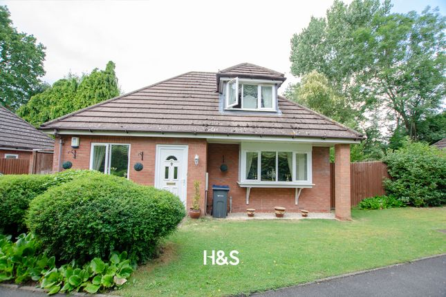 Thumbnail Detached bungalow for sale in Scribers Meadow, Hall Green, Birmingham