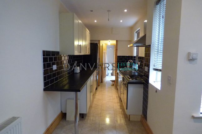 Thumbnail Terraced house to rent in Wilberforce Road, Leicester