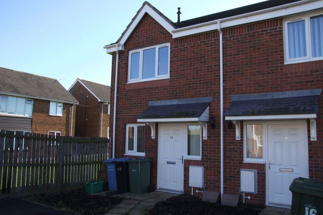 Thumbnail Terraced house for sale in Holyhead Close, Seaham