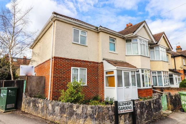 Thumbnail Semi-detached house to rent in Blenheim Gardens, Southampton