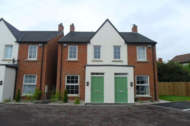 Thumbnail Semi-detached house to rent in Old Bangor Road, Bangor