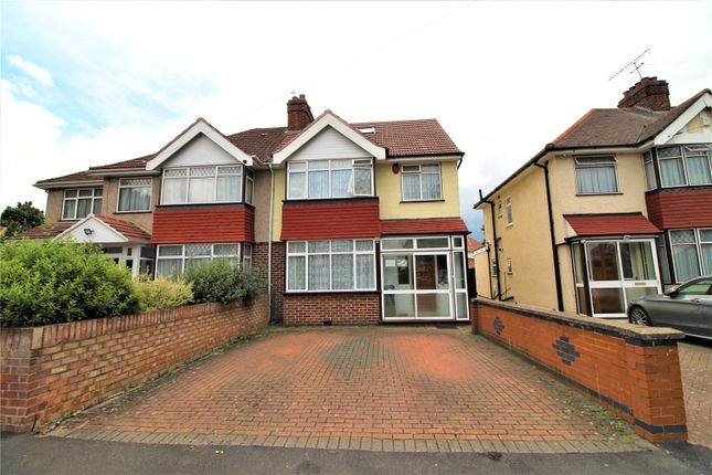 Thumbnail Semi-detached house to rent in Fairdale Gardens, Hayes, Greater London