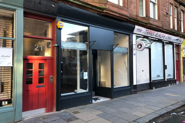 Thumbnail Retail premises to let in Parnie Street, Glasgow