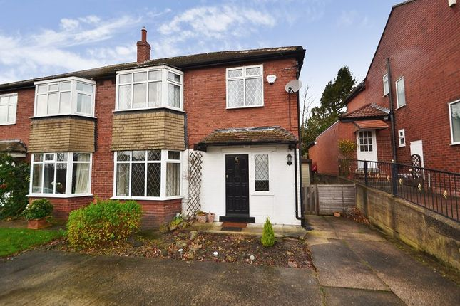 Thumbnail Semi-detached house to rent in The Avenue, Alwoodley, Leeds
