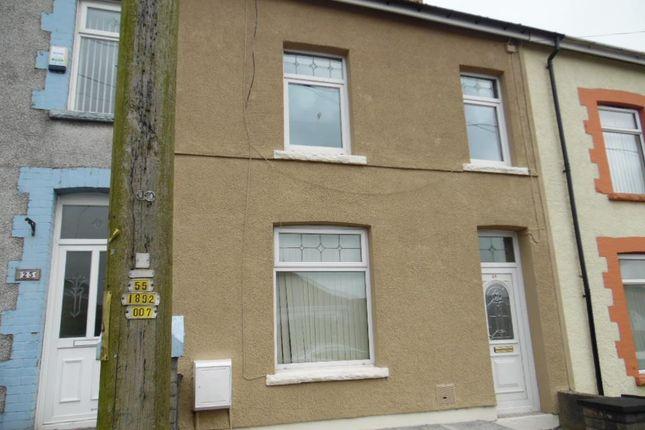 Thumbnail Property to rent in Llwyncelyn Terrace, Nelson, Treharris