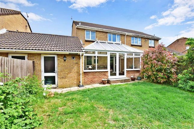 Thumbnail Semi-detached house for sale in Crundale Way, Cliftonville, Margate, Kent