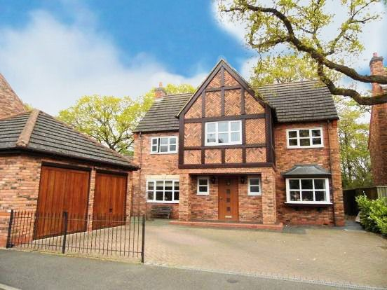 Thumbnail Detached house for sale in Whitchurch Lane, Dickens Heath, Shirley, Solihull
