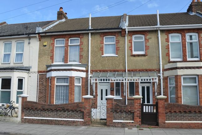 3 bed terraced house for sale in Crofton Road, Southsea
