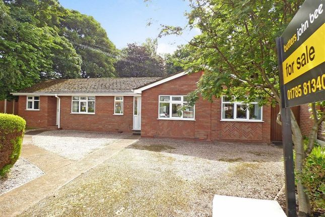 3 bed detached bungalow for sale in Eccleshall Road, Stone, Staffordshire