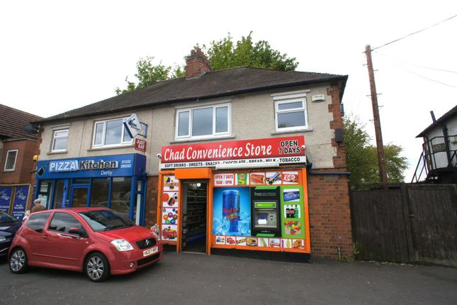 Thumbnail Flat to rent in Nottingham Road, Chaddesden, Derby