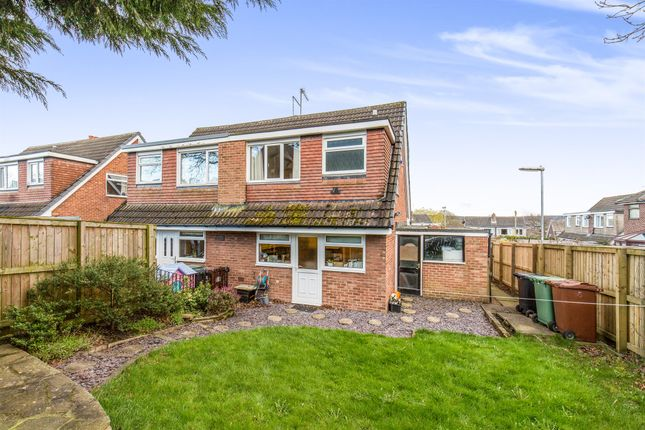 Thumbnail Semi-detached house for sale in Woodlea Drive, Yeadon, Leeds