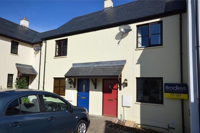 Thumbnail Terraced house to rent in Sawyers Close, Moretonhampstead, Newton Abbot, Devon