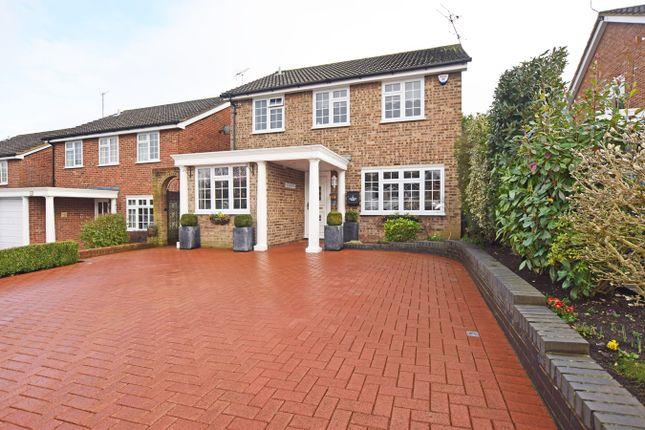 Thumbnail Detached house for sale in Glenwood Close, Hempstead, Gillingham
