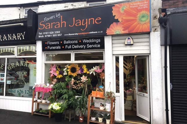 Thumbnail Retail premises for sale in Middleton Road, Royton, Oldham