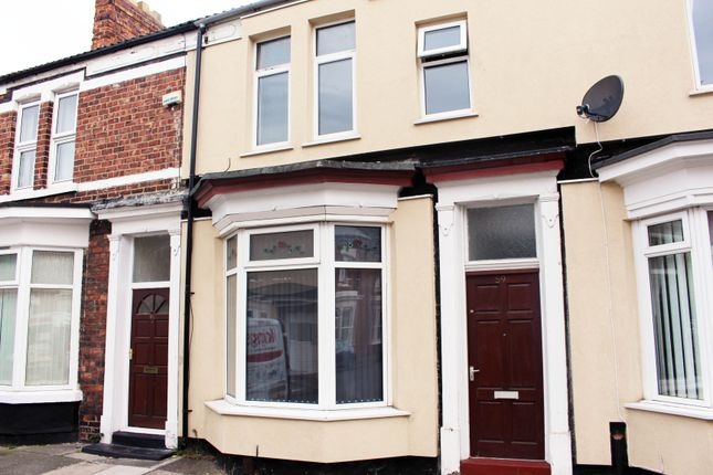 Thumbnail Terraced house to rent in Windsor Road, Stockton-On-Tees