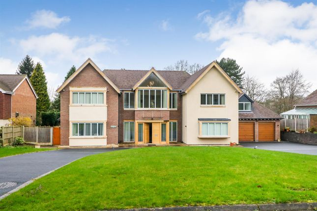 Thumbnail Detached house for sale in Squirrel Walk, Little Aston, Sutton Coldfield
