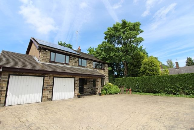 Thumbnail Detached house for sale in Booth Hall Drive, Tottington, Bury