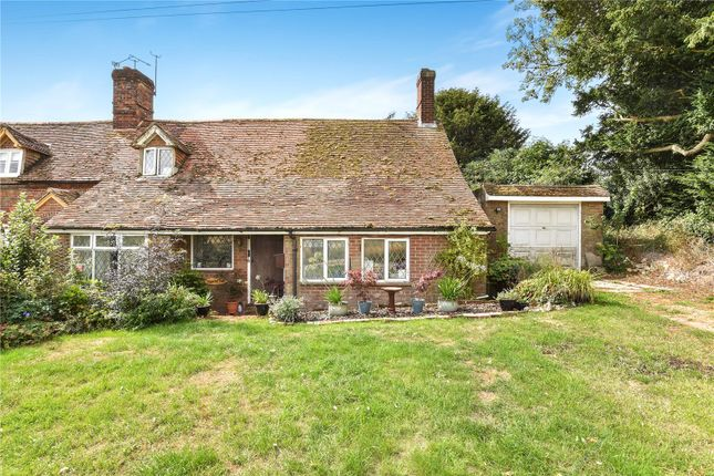 Thumbnail Semi-detached house for sale in Oxlease End, 2 Grange Farm Cottages, Herriard, Hampshire