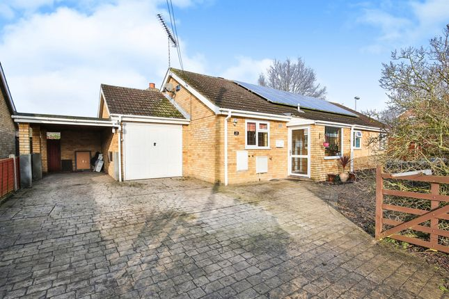 Thumbnail Detached bungalow for sale in George Eliot Way, Toftwood, Dereham
