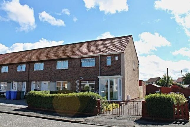 Thumbnail End terrace house to rent in Cowan Crescent, Ayr