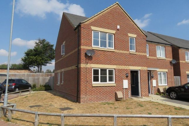 Thumbnail Semi-detached house to rent in Granary Close, Peterborough