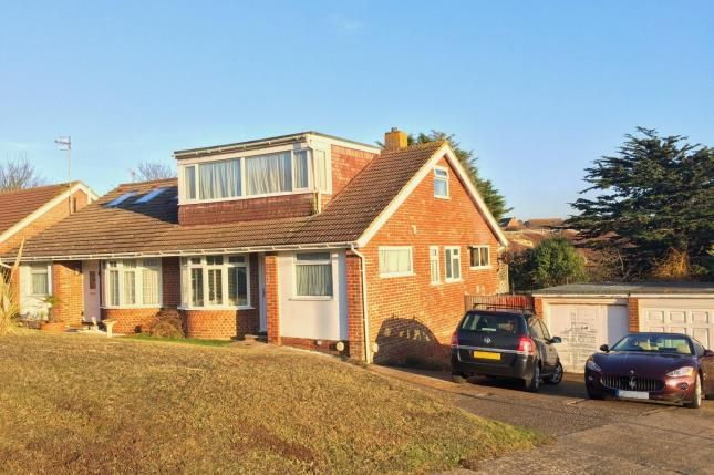 Thumbnail Bungalow for sale in Hawth Place, Seaford, East Sussex