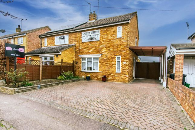 Thumbnail Semi-detached house for sale in Grace Gardens, Thorley, Bishop's Stortford