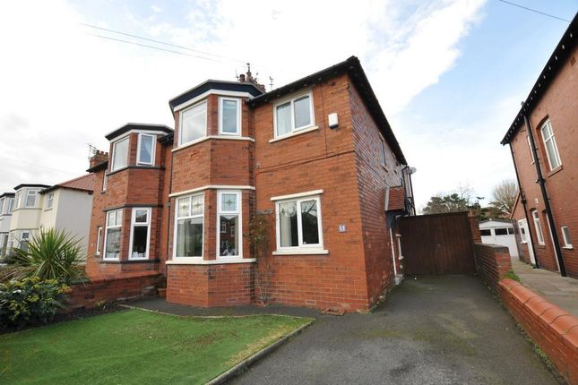 Thumbnail Semi-detached house for sale in Ryeheys Road, St Annes, Lytham St Annes, Lancahsire