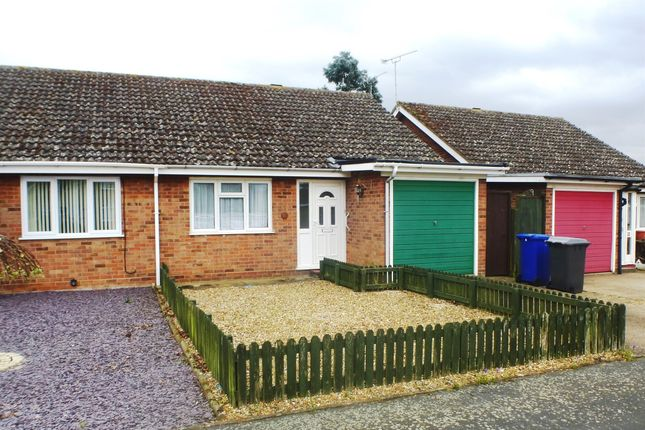 Thumbnail Terraced bungalow for sale in Raven Close, Mildenhall, Bury St. Edmunds