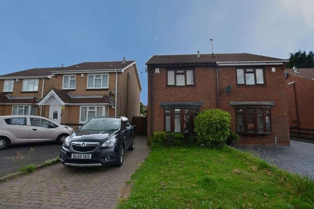 Thumbnail Semi-detached house for sale in Goode Close, Oldbury