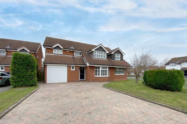 Thumbnail Detached house for sale in Finford Croft, Balsall Common, Coventry