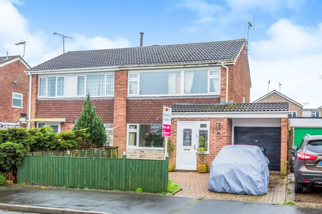 Thumbnail Semi-detached house for sale in Grenville Close, Uttoxeter
