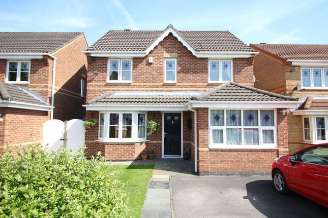Thumbnail Detached house for sale in Chedworth Drive, Manchester