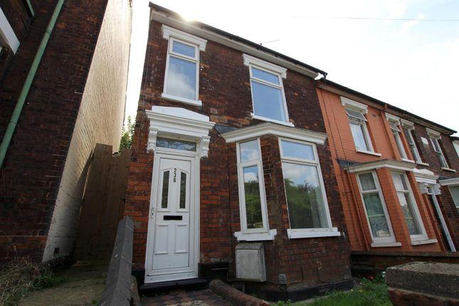 Thumbnail End terrace house for sale in Woodbridge Road, Ipswich