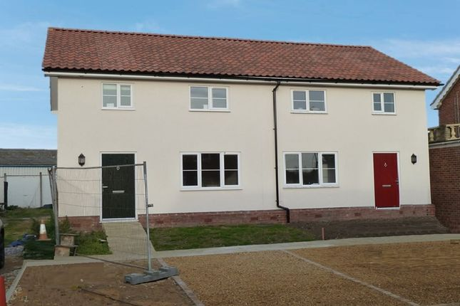 Thumbnail Semi-detached house to rent in Victoria Road, Diss, Norfolk