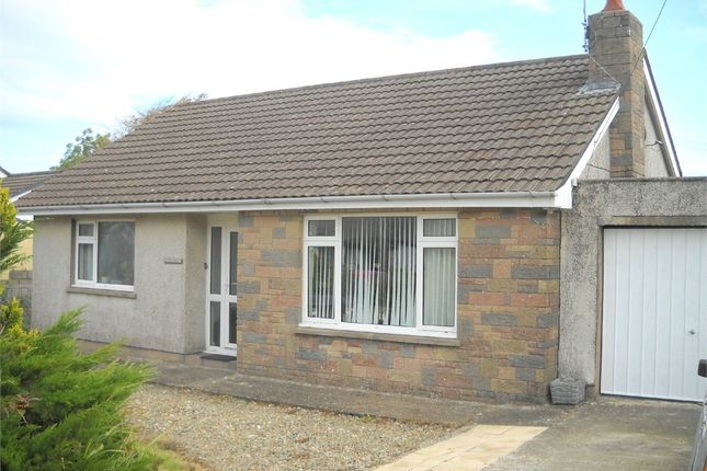 Thumbnail Detached bungalow for sale in Gwernfor, Spring Hill, Dinas Cross, Newport, Pembrokeshire