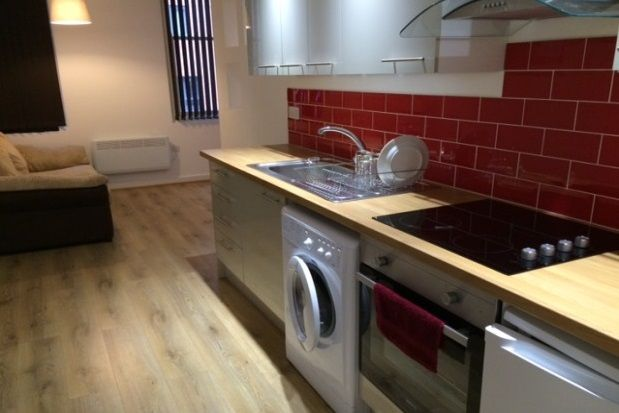 Thumbnail Flat to rent in Hyde House, Queen Street, Leicester
